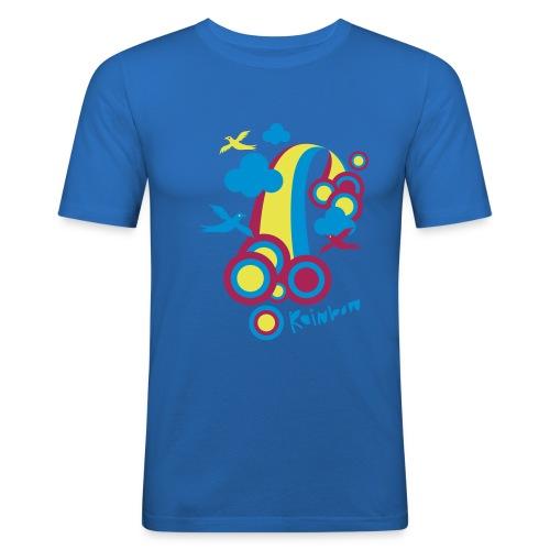 Rainbow - Mannen slim fit T-shirt