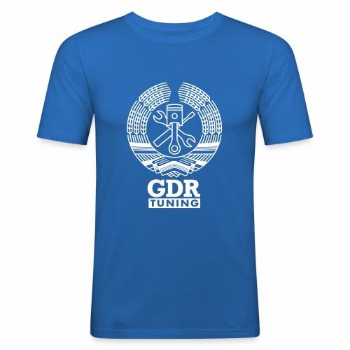 GDR Tuning Coat of Arms 1c - Men's Slim Fit T-Shirt