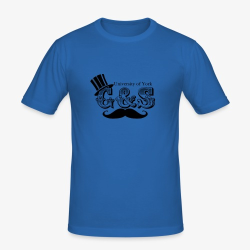Gilbert and Sullivan Logo - Men's Slim Fit T-Shirt