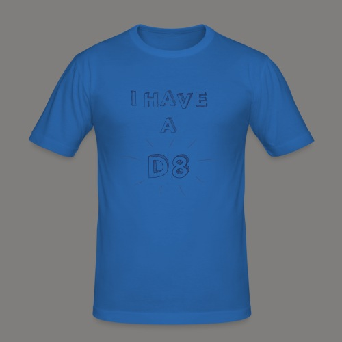 DATE blue - T-shirt près du corps Homme