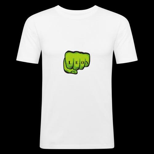 Leon Fist Merchandise - Men's Slim Fit T-Shirt