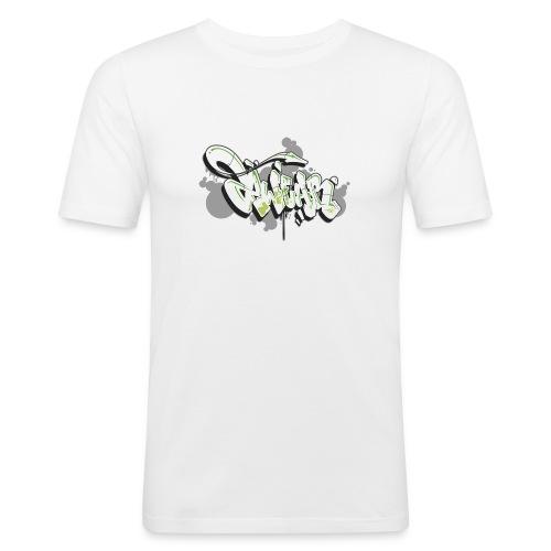 Mesk 2Wear graffiti style 7up ver02 - Herre Slim Fit T-Shirt