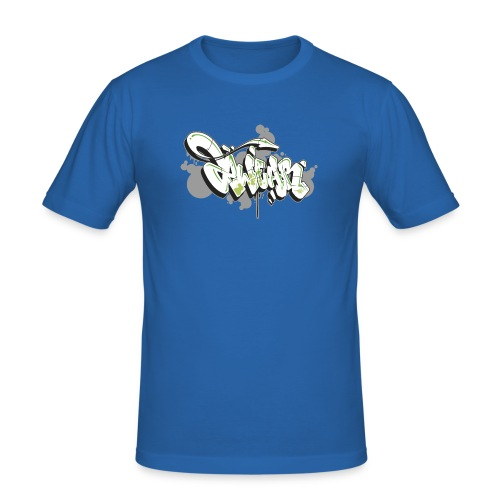 Mesk 2Wear graffiti style 7up ver02 - Herre Slim Fit T-Shirt