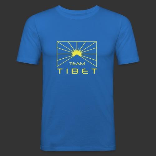 Team Tibet - Männer Slim Fit T-Shirt