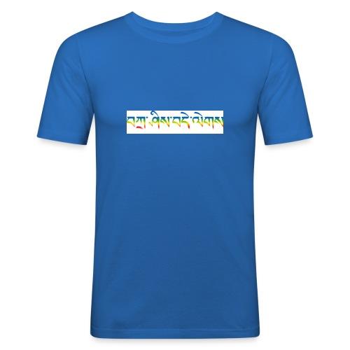 tashi delek - Männer Slim Fit T-Shirt