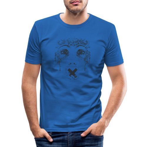 Zensur - Männer Slim Fit T-Shirt