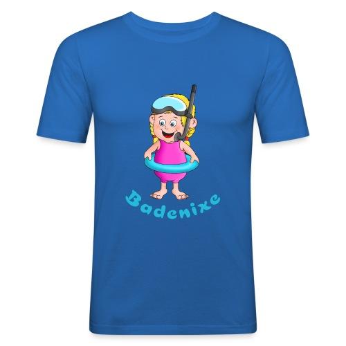 Badenixe - Schwimmerin - Männer Slim Fit T-Shirt