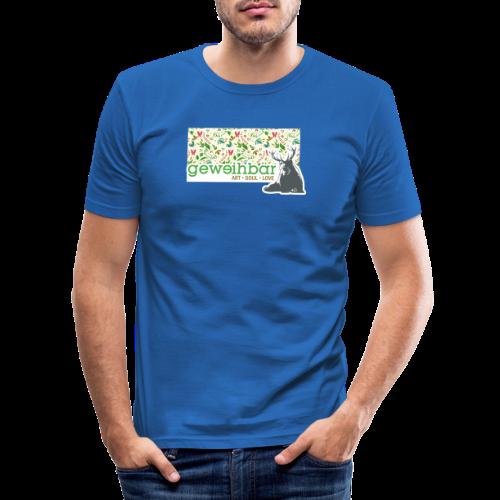 geweihbär ART - Männer Slim Fit T-Shirt