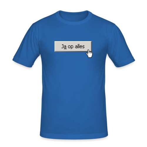 Ja Op Alles - slim fit T-shirt
