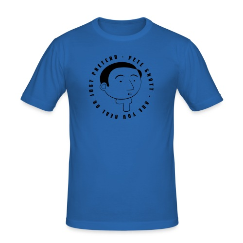 Pete Snott - Men's Slim Fit T-Shirt