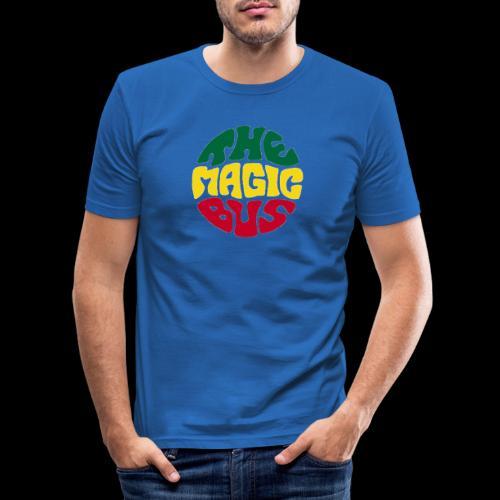 THE MAGIC BUS - Men's Slim Fit T-Shirt