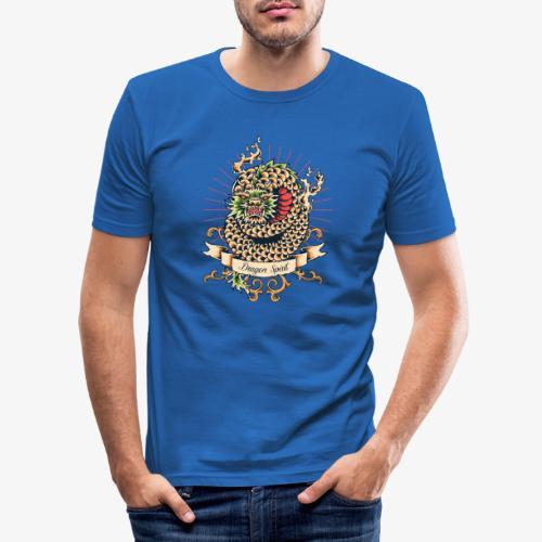 Drachengeist - Männer Slim Fit T-Shirt