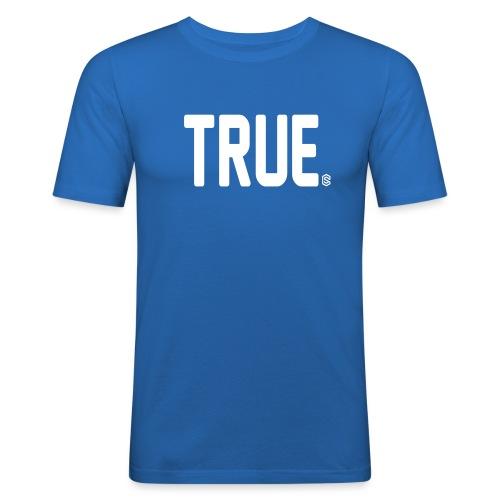 truesc - Slim Fit T-shirt herr