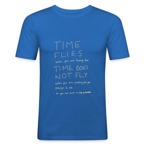 Time Flies - Men's Slim Fit T-Shirt
