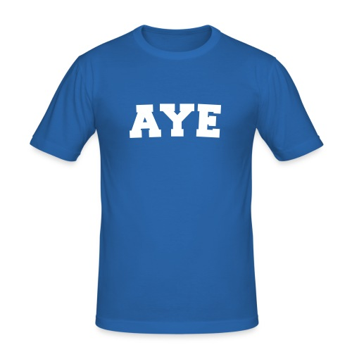 Aye Scotland - Men's Slim Fit T-Shirt