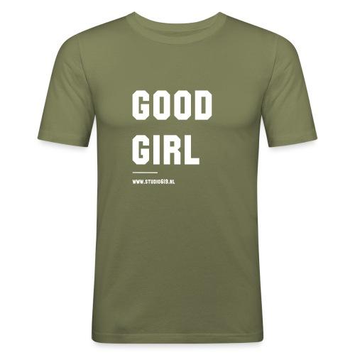 TANK TOP GOOD GIRL - Mannen slim fit T-shirt
