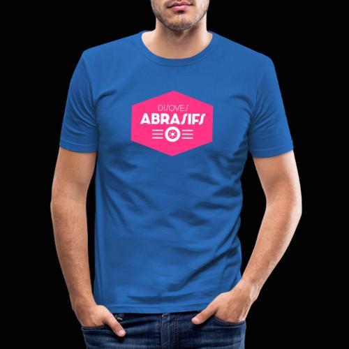 Official Disques Abrasifs Merch' - T-shirt près du corps Homme