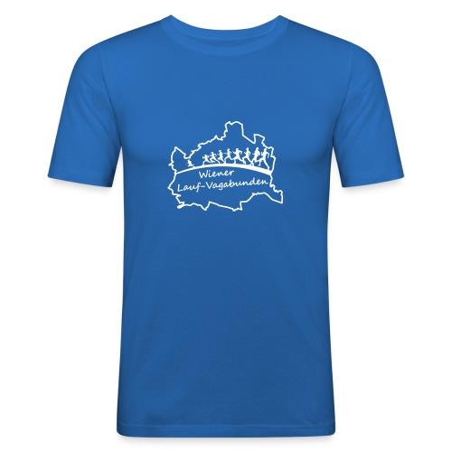 Laufvagabunden T Shirt - Männer Slim Fit T-Shirt