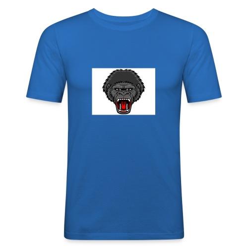 gorilla - Mannen slim fit T-shirt