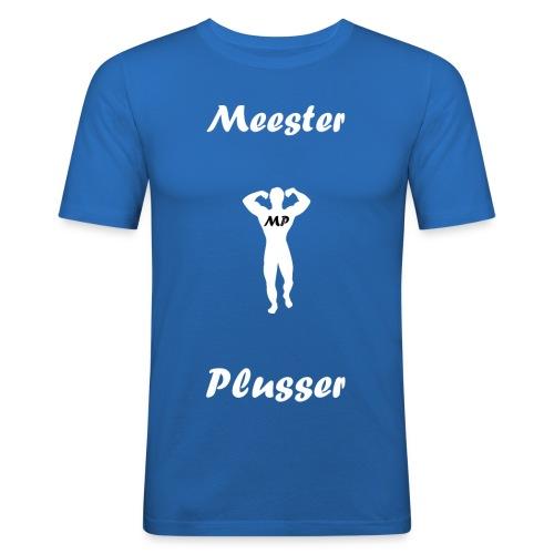 MeesterPlusser - Mannen slim fit T-shirt