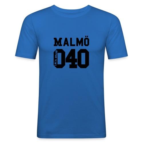 malmoe 040 20 - Slim Fit T-shirt herr