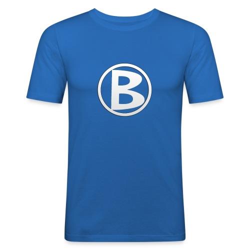 Butterus Dryanmar Logo - Men's Slim Fit T-Shirt