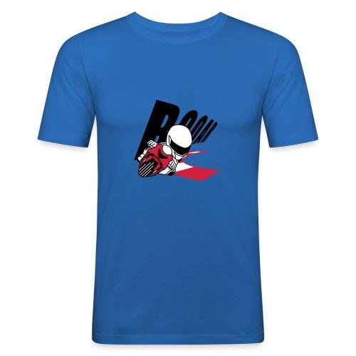 MOTO GP ROAR - Männer Slim Fit T-Shirt