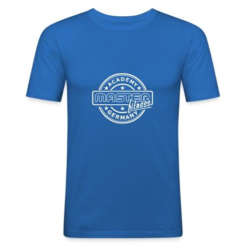 Logo masterfitness academy - Männer Slim Fit T-Shirt