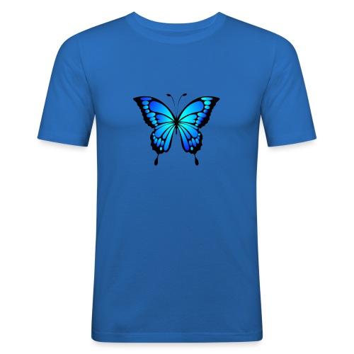 Mariposa - Camiseta ajustada hombre