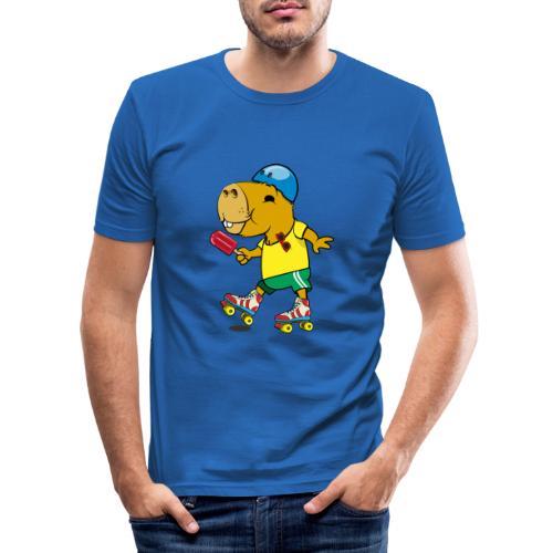 Ice cream - Männer Slim Fit T-Shirt