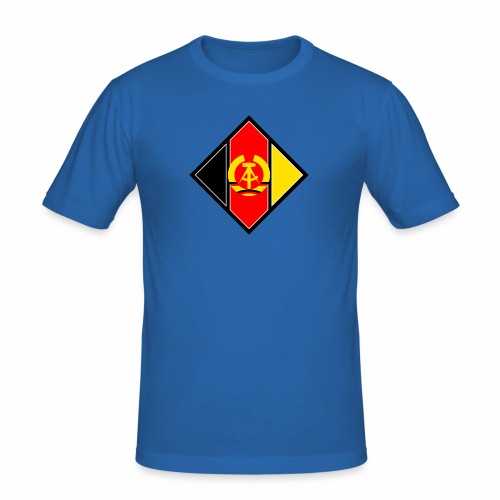 DDR coat of arms stylized - Men's Slim Fit T-Shirt