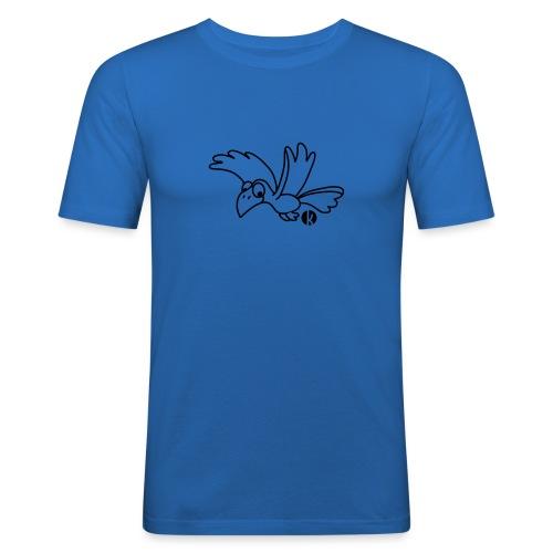 Rabe - Crow - Männer Slim Fit T-Shirt