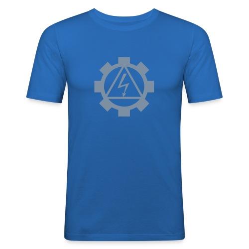 EF-logo Int - Men's Slim Fit T-Shirt