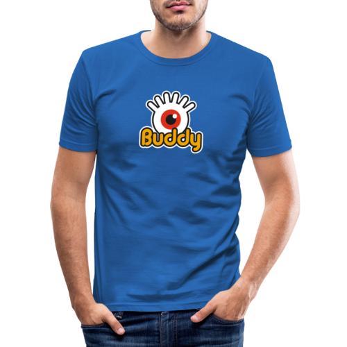 Buddy Label (Color) - T-shirt près du corps Homme
