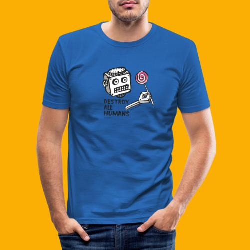 Dat Robot: Destroy Series Candy Light - slim fit T-shirt