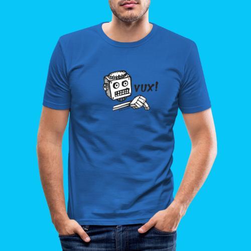 Dat Robot Vux - Mannen slim fit T-shirt