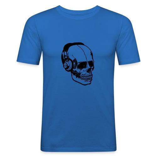 lydbog_6 - Herre Slim Fit T-Shirt