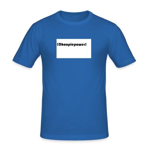 Dhoopiepowers - Mannen slim fit T-shirt