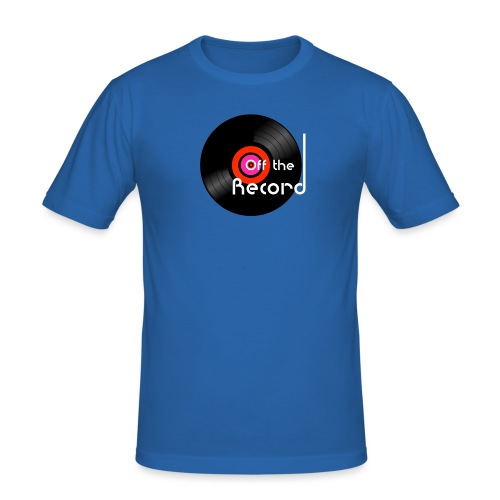 Off the Record - Miesten tyköistuva t-paita
