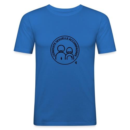 conduite sexuelle accompagnee - T-shirt près du corps Homme