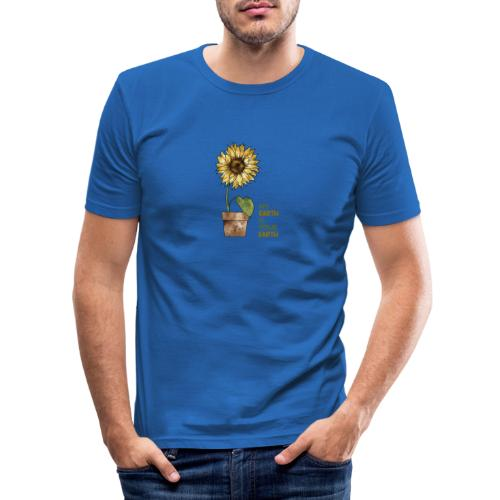 My earth is your earth - Männer Slim Fit T-Shirt