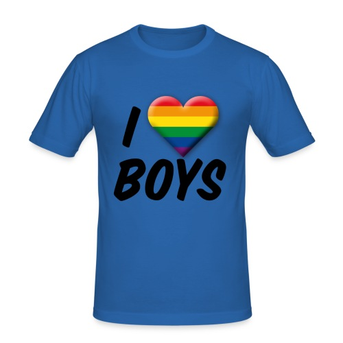 iloveboys - Männer Slim Fit T-Shirt