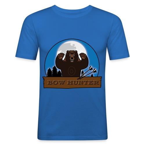3D_bär - Männer Slim Fit T-Shirt