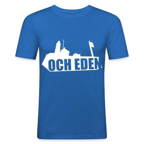 och eden - Mannen slim fit T-shirt