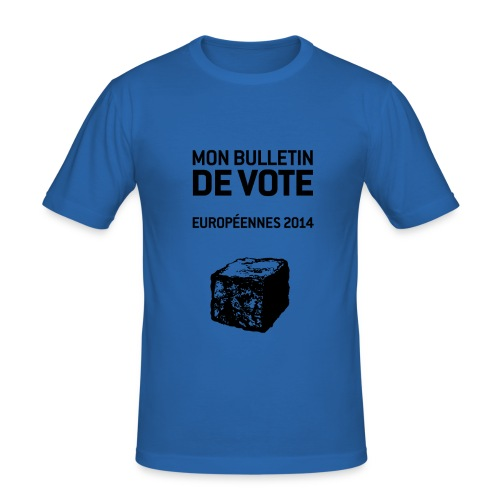 bulletin_europeene - T-shirt près du corps Homme
