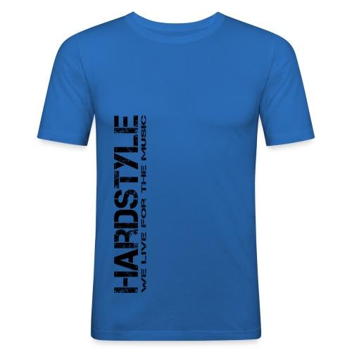 HARDSYTLE4 png - Männer Slim Fit T-Shirt