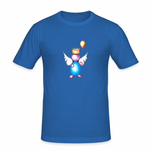 Mettalic Angel geluk - slim fit T-shirt