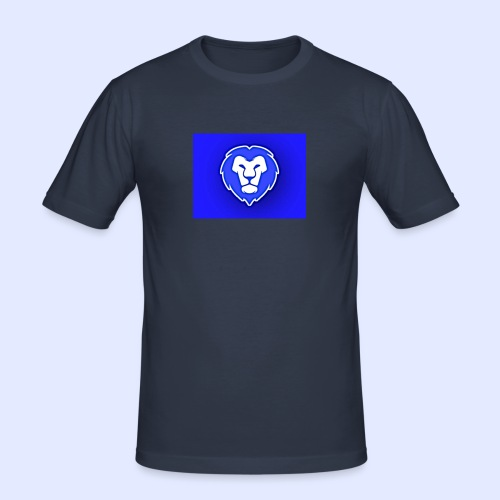 FocusLion - Miesten tyköistuva t-paita