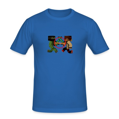 YT-HætteTrøje-Sort-SimOleGamingDK - Herre Slim Fit T-Shirt