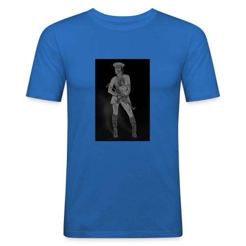 ak_47_german_2a_by_jagged_eye-d395o1y2 - Camiseta ajustada hombre